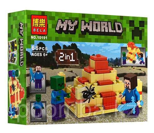 Конструктор BELA 10191 Minecraft