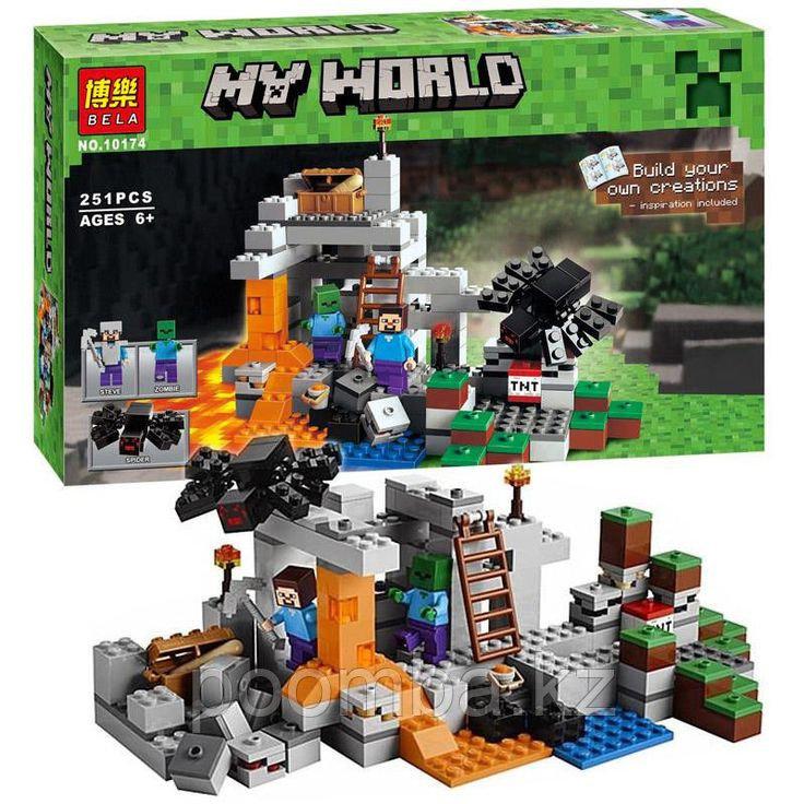 Конструктор Minecraft Bela 10174 Майнкрафт 251 деталей