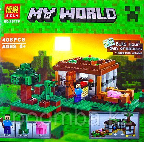 """Конструктор Bela 10176 """"Minecraft"""", 408 дет"""