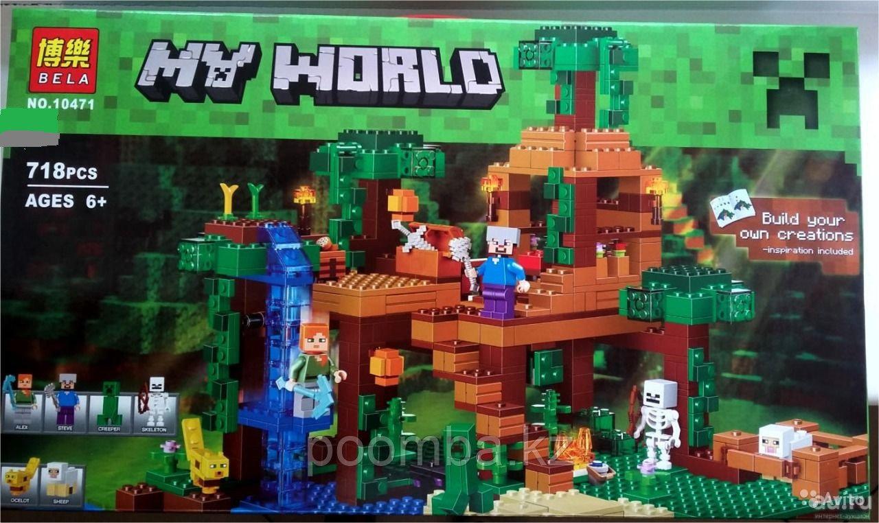 Конструктор BELA 10471 Minecraft