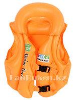 Надувной спасательный жилет для плавания SWIT VEST оранжевый (Step С)