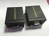 Удлинитель VGA по витой паре до 60 метров по одному UTP (Extender), фото 3