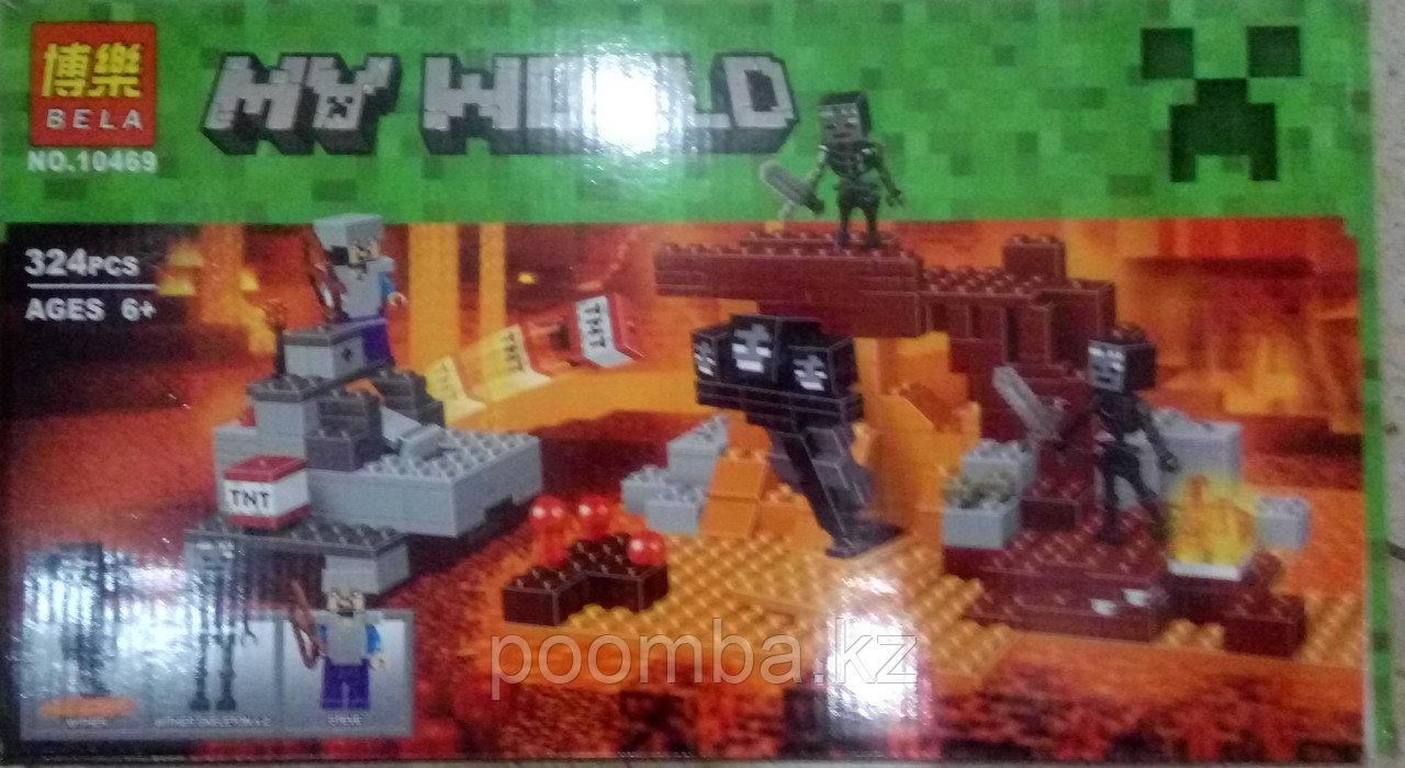 Конструктор BELA 10469 Minecraft