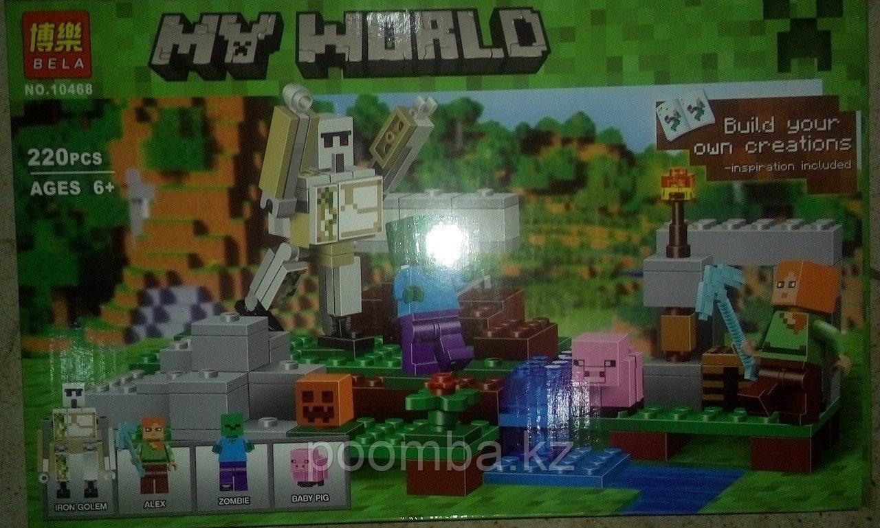 Конструктор BELA 10468 Minecraft