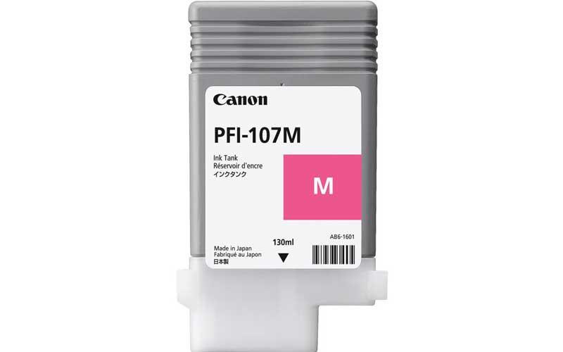 Canon 6707B001 Картридж PFI-107 Magenta (130 ml)