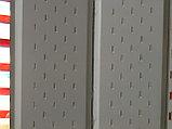 Металлосайдинг (софит) L-брус перфорированный, фото 2
