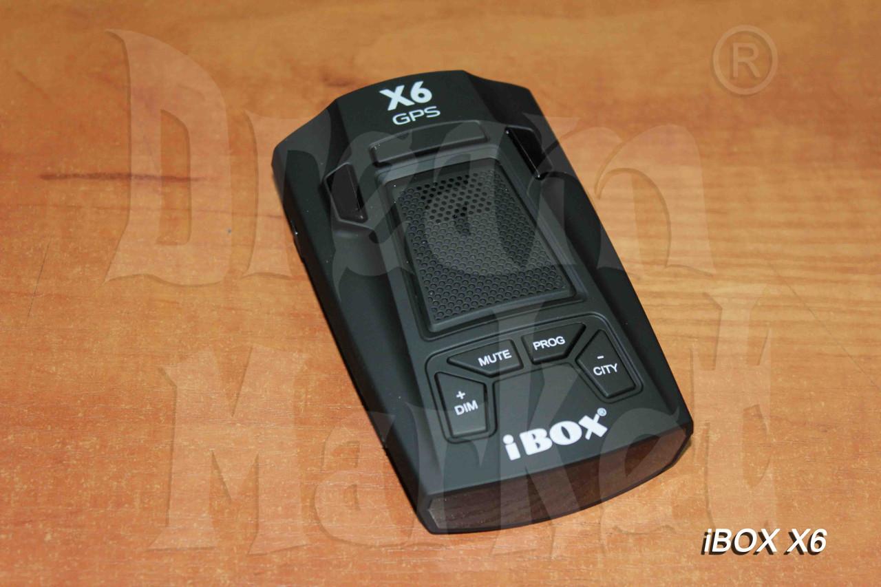 Радар-детектор iBox X6 GPS