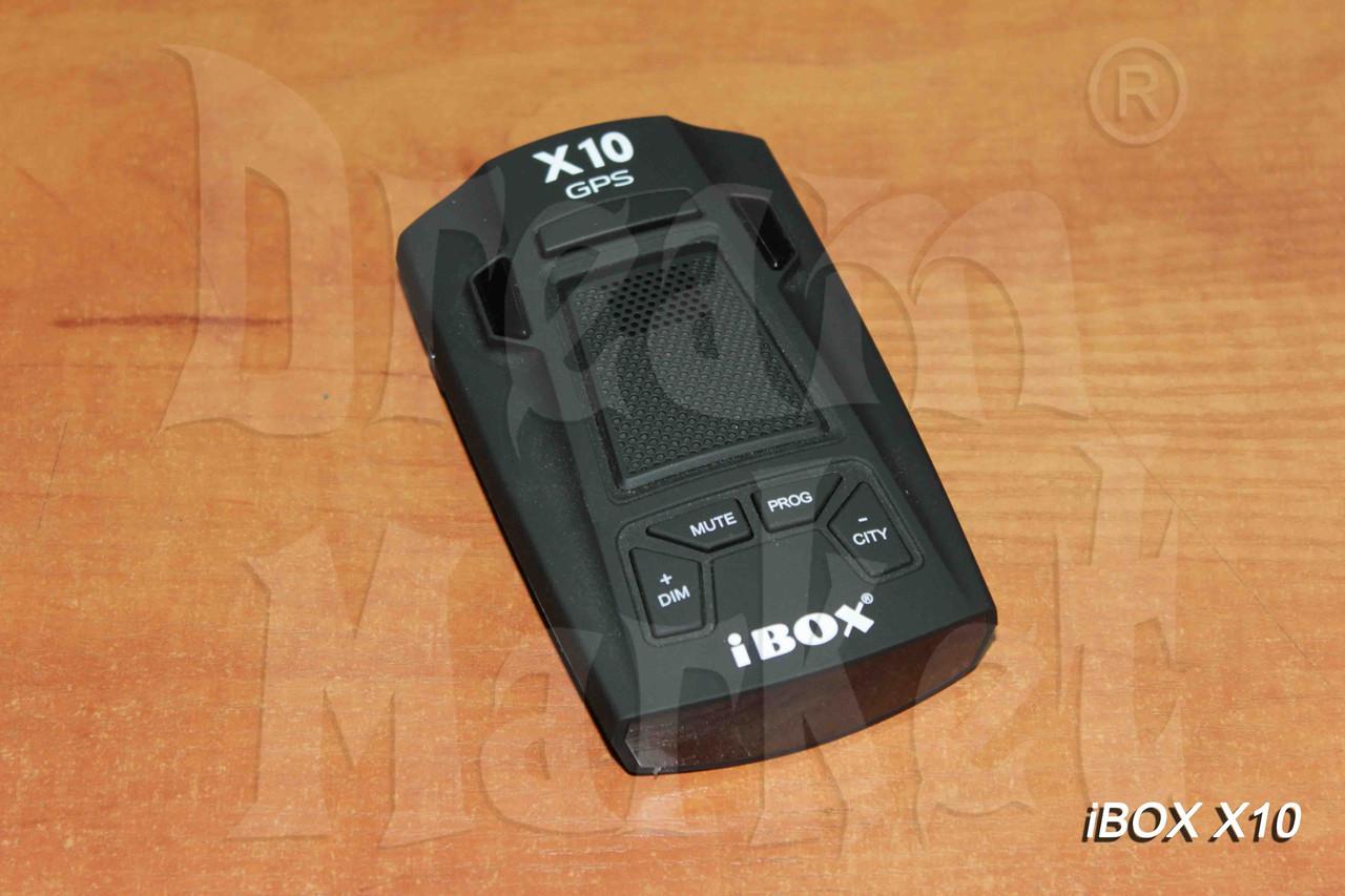 Радар-детектор iBox X10 GPS