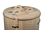 Кедровая бочка круглая «Классическая» со скосом, фото 2