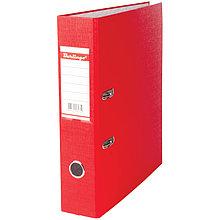 Папка-регистратор 70мм, бумвинил, с карманом на корешке, красная