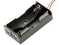 Отсек для двух аккумуляторов 18650/17650 Li-ion, открытый