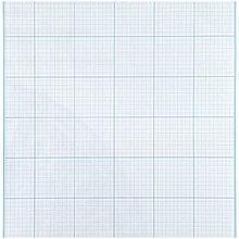 Бумага масштабно-координатная А3 20 л., голубая, в папке