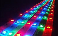 Цветная светодиодная лента без силикона 5050 RGB 12V 5 метров, фото 1