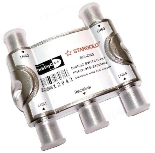 DiSEgC 4*1 Stargold SG D60