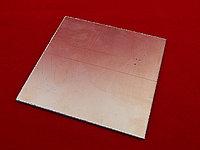 Печатная плата двухсторонняя 10см х 10см (Стеклотекстолит СТФ2-35-1,5)
