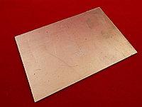 Печатная плата двухсторонняя 10см х 15см (Стеклотекстолит СТФ2-35-1,5)