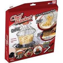 Складная решетка для приготовления пищи Шеф Баскет Chef Basket , фото 2