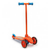 Самокат, оранжево-голубой, фото 1