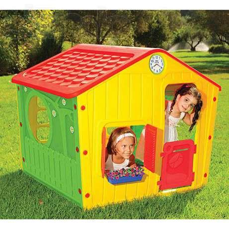 Детские игровые горки, домики, комплексы, качели, балансиры, песочницы