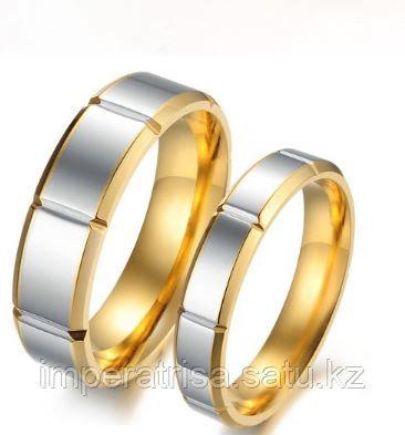"""Парные кольца для влюбленных """"Сияние"""""""