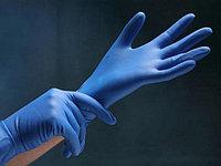 Перчатки нитриловые нестерильные Размеры M, L