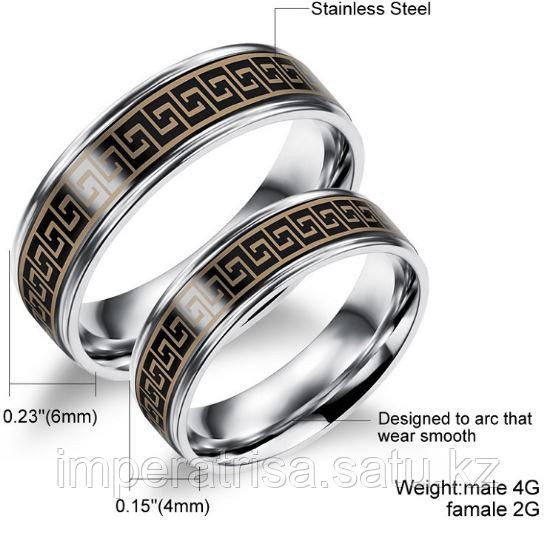 """Парные кольца """"Одна любовь на двоих"""""""