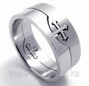"""Парные кольца для влюбленных """"Вместе и навсегда"""""""