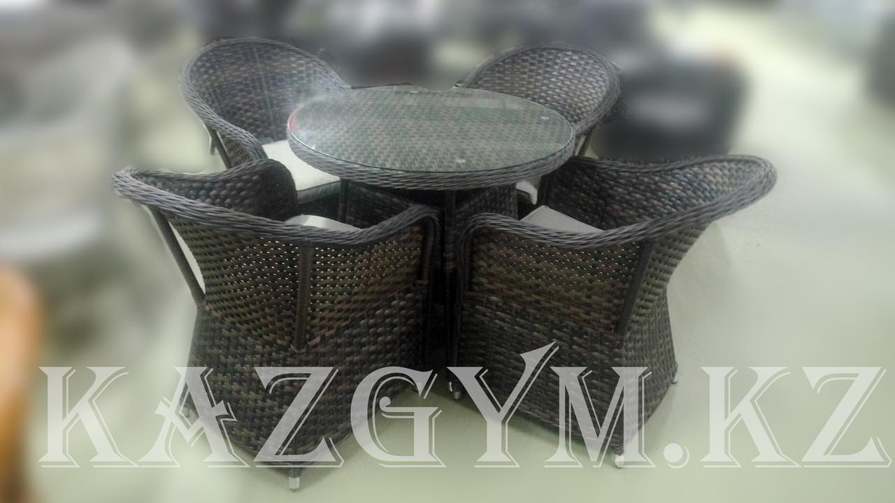 Стол и 4 кресла Вивальди-мини