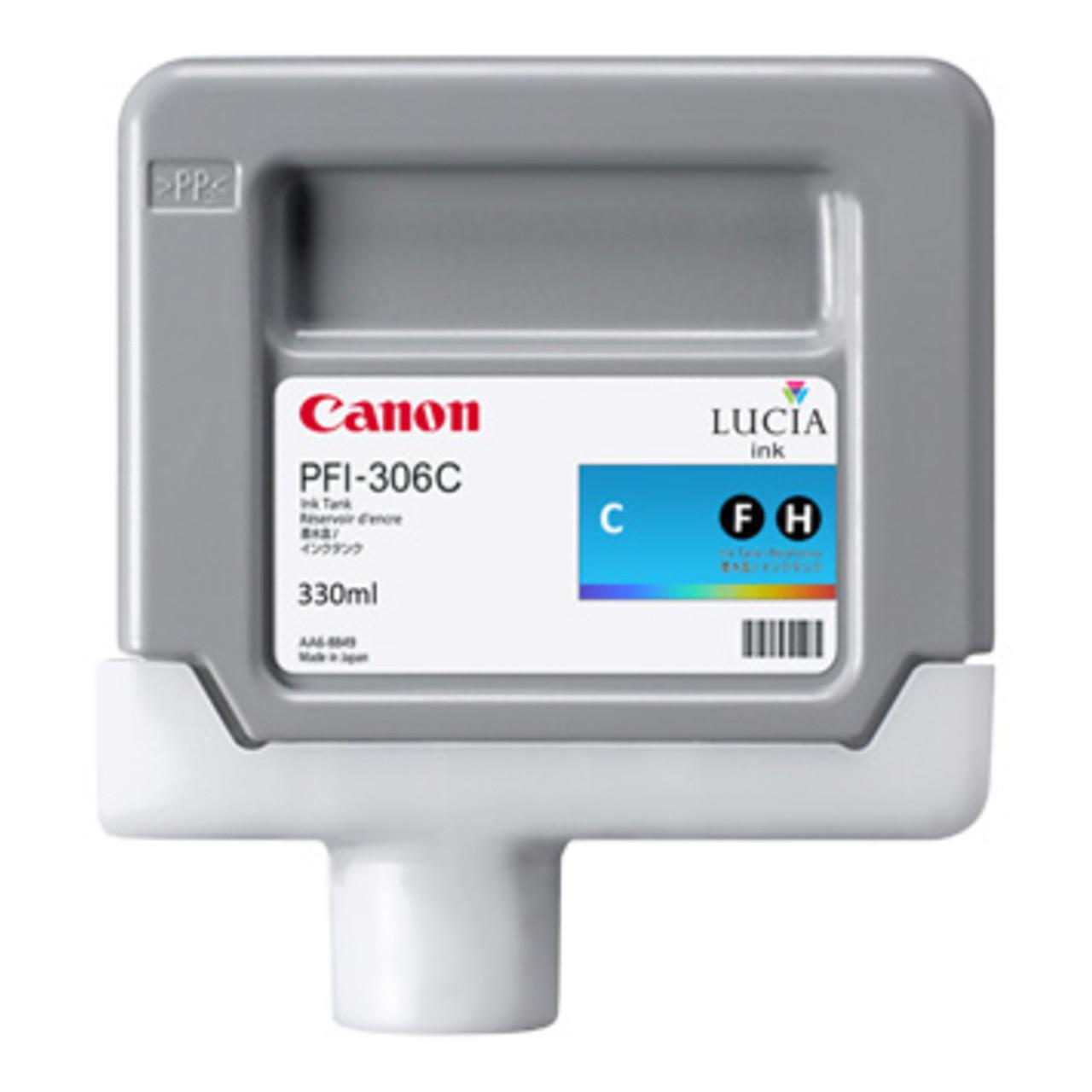 Canon 6658B001 Картридж PFI 306 Cyan