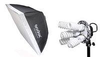 Осветитель Godox TL-K5 kit софтбокс 60*90, фото 1