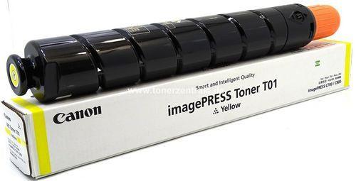 Canon 8069B001 Тонер-картридж TONER T01 YELLOW