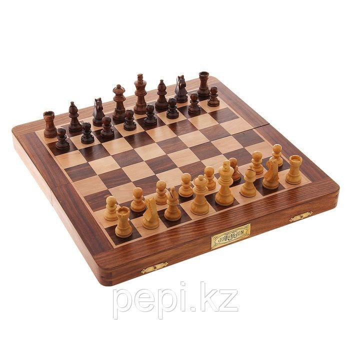 """Шахматы+нарды """"Командор"""", 30*15*5см, дерево"""