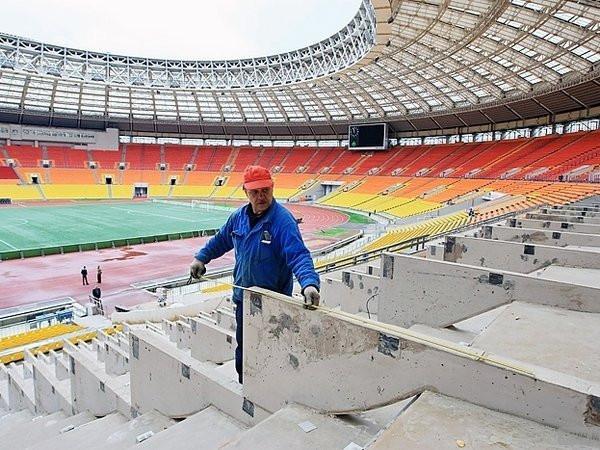 Реконструкция и капитальный  ремонт стадионов и спортивных площадок