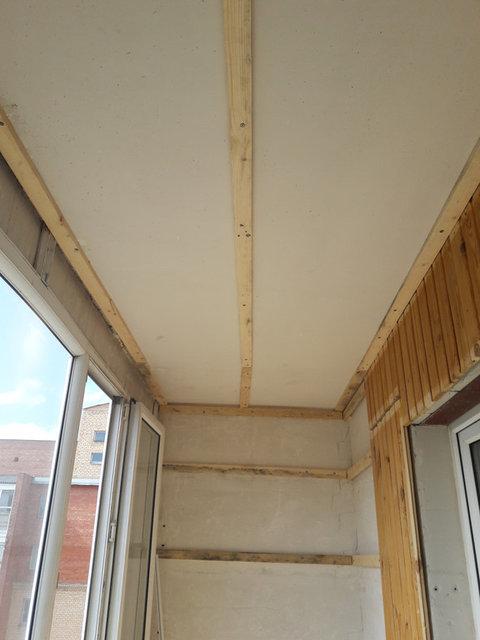 Обшивка балкона 8