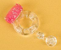 Виброкольцо TOYFA, прозрачное