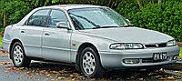 Мухобойка (дефлектор капота) Mazda 626 Cronos 1992-1996