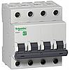 Автоматический выключатель Easy9 4П 10А С