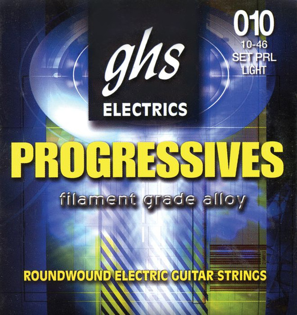 Струны для электро гитары GHS Progressives