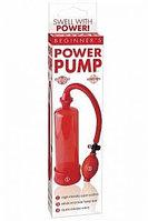 PD3241-15 Помпа мужская BEGINNER's POWER красная, фото 1