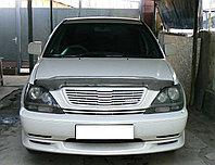 Мухобойка (дефлектор капота) Toyota Harrier 1998-2002 (Carbon)