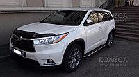 Мухобойка (дефлектор капота) EGR Toyota Highlander 2014+