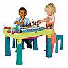 Столик для детского творчества Creative и 2 табуретки (Keter, Израиль)