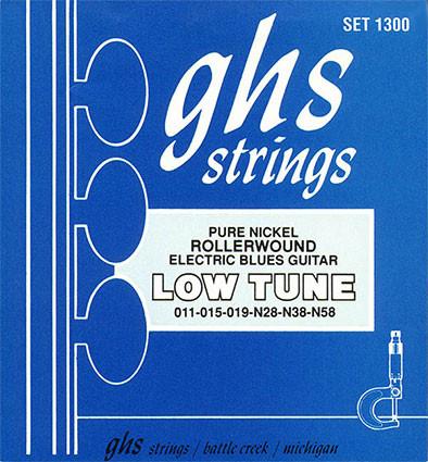 Струны для электро гитары GHS Set 1300 Roller wound Nikel