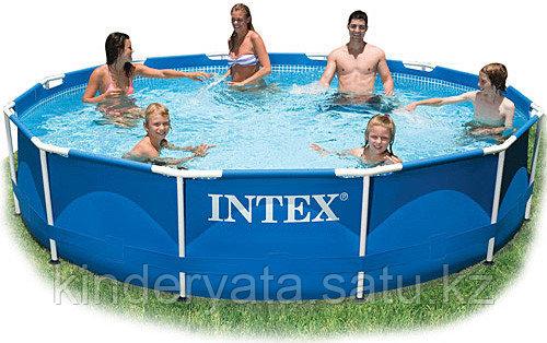 Каркасный бассейн Intex  Metal Frame 366x76