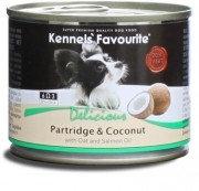 Влажный корм для собак всех пород Kennels' Favourite куропатка и кокос