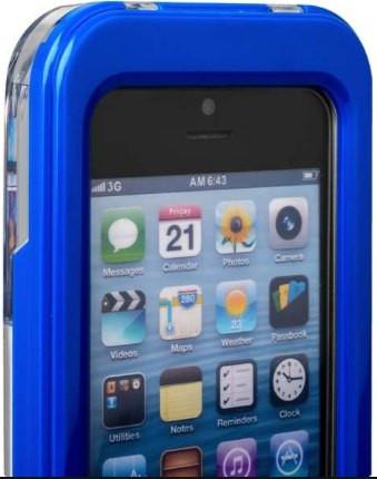 Водонепроницаемый чехол для Iphone 5/5S/SE (синий)