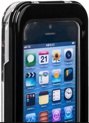 Водонепроницаемый чехол для Iphone 5/5S/SE (черный)