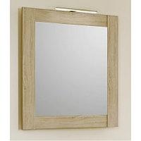 """Панель с зеркалом и светильником Aqwella """"Simphony"""" 70, цвет дуб сонома (Sim.02.07/DS)"""