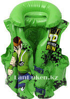 """Надувной спасательный жилет для плавания """"BEN 10"""" (SWIMMING VEST зеленый)"""