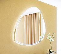 Панель с зеркалом Clarberg Aqwella Stone 95 и подсветкой (Stn.02.10)